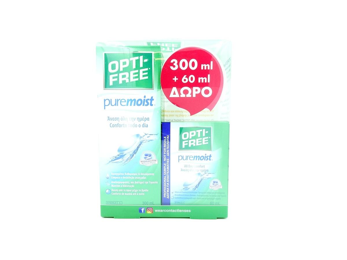 ALCON OPTI FREE PUREMOIST 300ml + 60ml