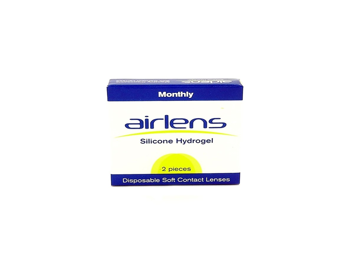 AIRLENS SILICONE HYDROGEL 2PACK