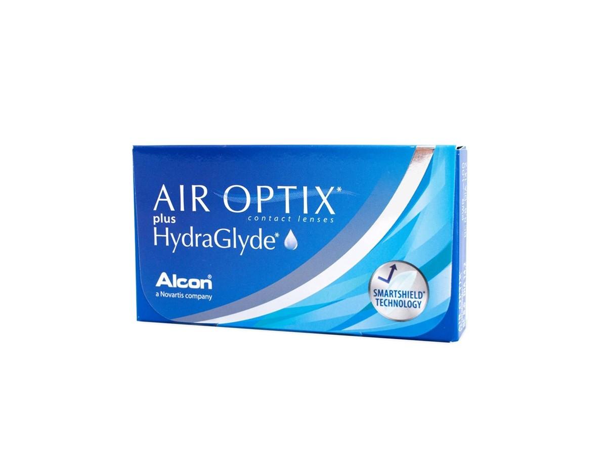 AIROPTIX HYDRAGLYDE PLUS Μηνιαίοι Μυωπίας-Υπερμετρωπίας 3pack