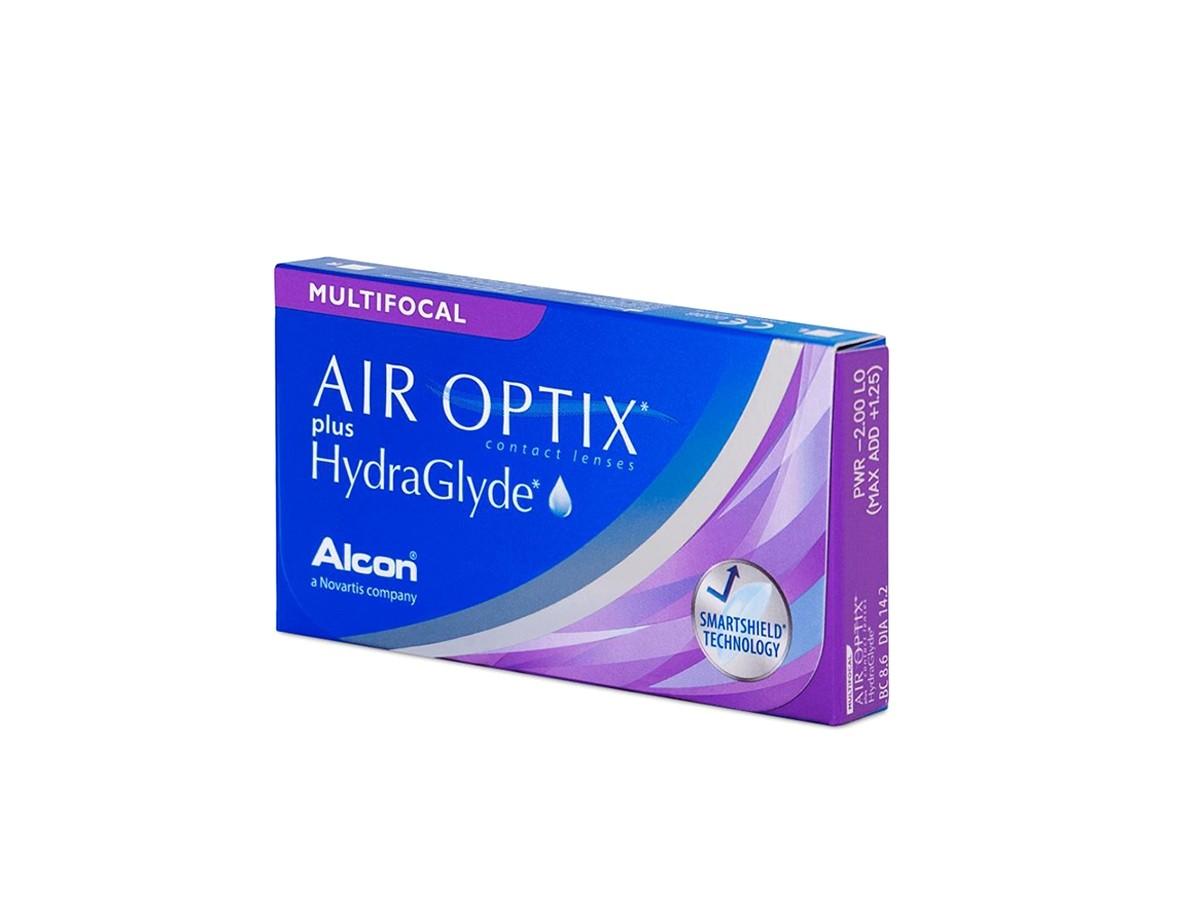 AIROPTIX HYDRAGLYDE PLUS MULTIFOCAL Μηνιαίοι Πολυεστιακοί 6pack
